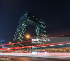 Beijing Central Business District China Central Television, CCTV... #oma: Beijing Central Business District China Central Television,… #oma