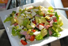 cobb salad!  dont forget to add CHEAT to it!