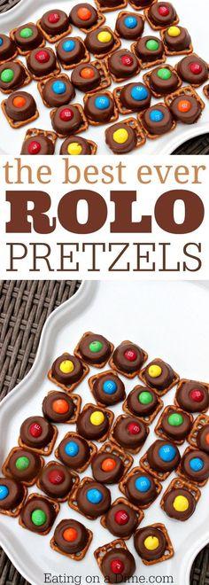 Rolo pretzels are our favorite pretzel treat. These rolo pretzel bites are the easiest dessert. Everyone loves our favorite pretzel treats with rolos.