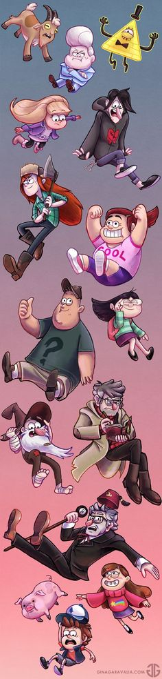 Gravity Falls,фэндомы,GF Арт,GF art,Gideon Gleeful,GF Персонажи,Bill Cipher,Pacifica Northwest,Robbie Valentino,Robbie V,Wendy Corduroy,Grenda,Soos Ramirez,Candy Chiu,Old Man McGucket,Stanley Pines,Stanford Pines,Dipper Pines,Mabel Pines,Waddles,много тегов: