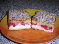 Tvarohový koláč s ovocím - recept