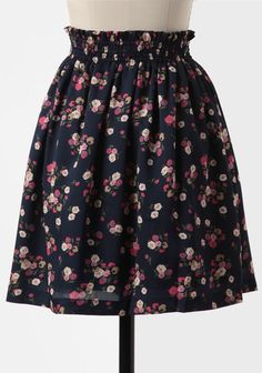 Such A Sweetheart Floral Skirt at #Ruche @Ruche