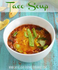 Taco Soup Recipe on Yummly