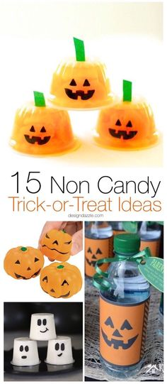 No-Candy Halloween Treat Idea for Trick Or Treaters - Halloween - halloween candy treat ideas