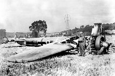 """18 Aug 40: Day 40 of 113 of the Battle of Britain. In what becomes known as """"The Hardest Day"""" the Luftwaffe makes an all-out effort to severely damage RAF Fighter Command by attacking airfields in southeast England and southern London. These air battles are amongst the largest aerial engagements in history to date. Both sides suffer very heavy losses. The British outperform the Luftwaffe in the air, achieving a favorable ratio of 2:1. More: http://scanningwwii.com/a?d=0818&s=400818 #WWII"""