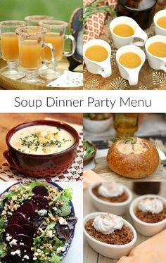 prom dinner party menu ideas home dinners parties dinner party menu dinner dinner recipes. Black Bedroom Furniture Sets. Home Design Ideas