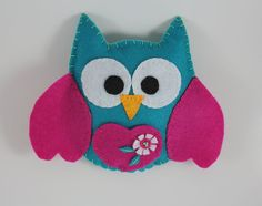 Pocket Owl Tooth Fairy Pillow on Etsy, $8.63 AUD