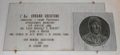 lapide Urbano Ubertone, Virgilio Milani, Conservatorio, palazzo Venezze, Rovigo by Pivari.com, via Flickr