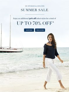 Enjoy An Additional 50% Off Select Women's Styles