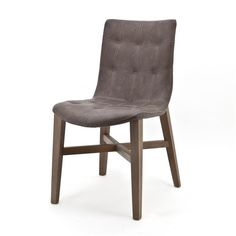 Chair Neba with Oak leg - Vintage taupe (7037) #Pakhuis3 #Stoel