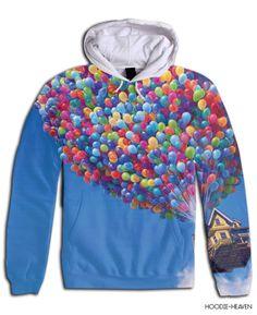 disney pixar up hoodie