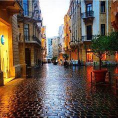 Downtown BEIRUT, Lebanon