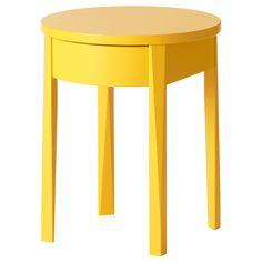 Ikea Stockholm bedside tables