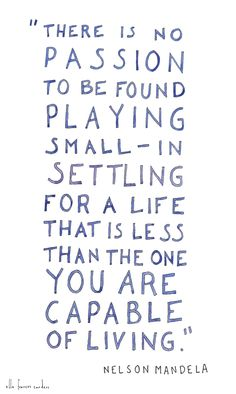 And you are capable of everything.