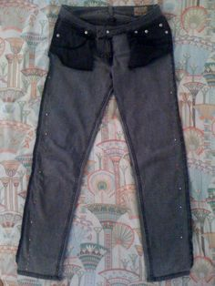 Painlessly Fixed, Or How I Made My $3 Jeans Look Like They Cost $8 – Painfully Hip