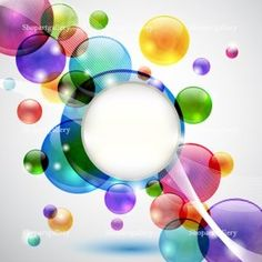 Bubbles background © Mira Bavutti