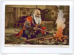 Prayer to the God of Fire (The Ainu Manners and Customs).