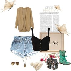 """""""comfy summer"""" by marianneemcintyre on Polyvore"""