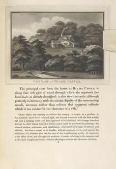 The Cottage at Blaise Castle from Observations on the theory and practice of landscape gardening, 1803
