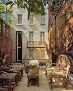Greenwich Village Townhouse - Modern - Patio - new york - by Melander Architects, Inc.