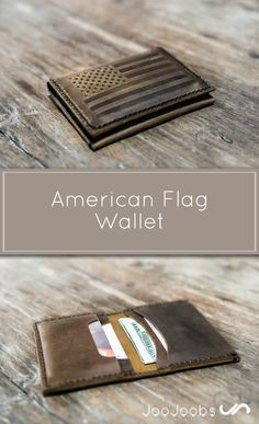 Check out this Awesome American Flag Wallet I found at JooJoobs!