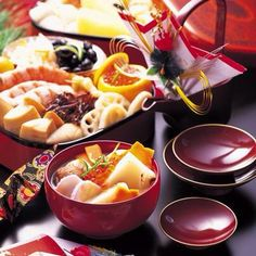 New Years dish osechi