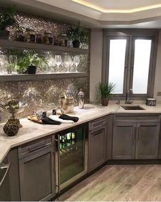 374 отметок «Нравится», 3 комментариев — Interior Design & Decor (@homeadore) в Instagram: «Beautiful Kitchen Credit: @sumhouse_sumwear»