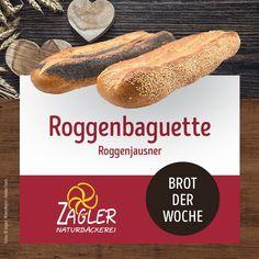 """Das Roggenbaguette - Unser Brot der Woche 🥖🌾 Habt ihr unseren Roggenjausner schon probiert? Dann wird es spätestens diese Woche höchste Zeit. 🤩 Wir haben uns auch wieder ein paar liebevolle Worte hierzu verfasst: """"Das Brot mit dem Reißverschlusssystem. Moses hat es vorgemacht, wir teilen das Brot in der Mitte. Diese ausgeprägte Kruste sorgt für eine große geschmackvolle Oberfläche, bei der sich der Roggen richtig entfalten kann. Ein heimisch traditionelles Produkt aus individueller… Baguette, Rye, Couple, Brot, Handarbeit"""