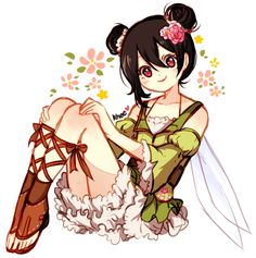 "cactuskhee: ""❀ fairy nico ❀ """