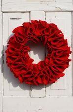 Valentines wreath.