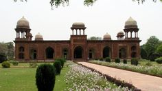 Mariam Zamani was the daughter of Raja Bharmal Kaccwaha of Amer ( Jaipur) and was married to Akbar in 1562 A.D. She gave birth to Salim (Jehangir) in 1569 at Fatehpur Sikri, when the title mariam zamani (Compassionate of the world) was conferred upon her by Akbar. She died at Agra in 1623 and this tomb was built by her son Jehangir between 1623 and 1627 A.D.