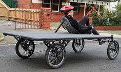 Trisled Flatbed truck bike photo