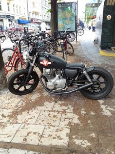 Xs400 | Bobber Inspiration - Bobbers and Custom Motorcycles September 2014