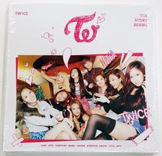 TWICE - The Story Begins (1ST Mini Album) 3 Photo Cards + Booklet(36P) JYP Tzuyu