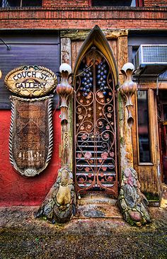 If I could choose my door it would look a lil somthin like this.