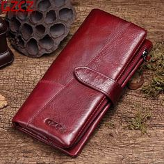 Vintage Stitching Genuine Leather Wallet Card Holder Purse For Women sales at a good price. Come to Newchic to buy a wallet, more cheap women wallets are provided online. Leather Pouch, Cow Leather, Leather Purses, Card Wallet, Purse Wallet, Coin Purse, St Kitts And Nevis, Wallets For Women, Business Women
