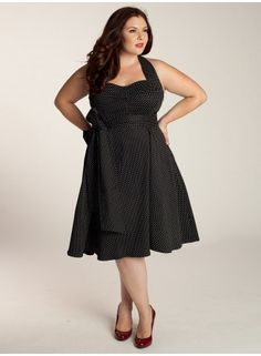 Vintage Polka Dot Dress (IGIGI - Original Price: $135.00)