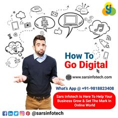 Are you confused about how to make your business #Digital?  Don't worry we have step by step strategy to boost your business online.  #brandawareness #brandmarketing #brandpositioning #brandstrategist #contentstrategy #brandagency #contentmarketing #marketingagency #smallbusinessmarketing #socialmediamanager #advertisingagency #inspiration #socialmediamarketing #digitalmarketing #onlinemarketing #seo #inboundmarketing #webdesign #outboundmarketing #goals #womeninbusiness #branding… Inbound Marketing, Content Marketing, Online Marketing, Social Media Marketing, Small Business Marketing, Online Business, Brand Strategist, Best Web Design, Web Design Company