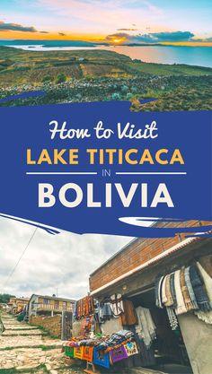 Lake Titicaca - Visiting Isla del Sol, Bolivia and Floating Islands in Peru South America Destinations, South America Travel, Travel Destinations, Ecuador, Costa Rica, Panama, Bolivia Travel, Lake Titicaca, Travel Abroad