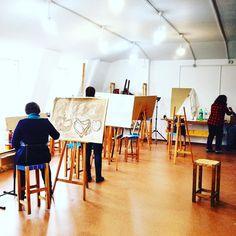 LOVE my work! Our ART studio at University #lovemyjob #lovemywork #lovemyworkplace #art #art #artistic #thehappynow #thatsdarling #pursuehappy #pursuepretty #artstudio #studio #artschool #art