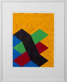 Paul Osipow, 1988, akryyli, 64x52 cm - Hagelstam A130
