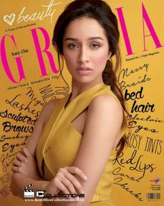 Gorgeous Shraddha Kapoor Sizzling on the Cover of Grazia Magazine November 2014 Issue_1