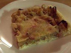 """Cibulový koláč z pořadu """"Jak na to"""" Quiche, Tacos, Pie, Meat, Chicken, Breakfast, Ethnic Recipes, Desserts, Food"""