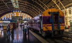 Travelling across Thailand, Malaysia and Singapore by train