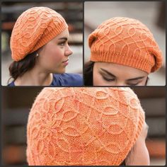 Both cozy and stylish, the Warwick Tam knitting pattern is as fun to knit as it is to wear. With its tiny, twisted cables and slouchy silhouette, it's the perfect accessory for even the pickiest of cable lovers! Baby Hat Patterns, Baby Knitting Patterns, Knitting Designs, Crochet Patterns, Knitting Ideas, Crochet Ideas, Crochet Slippers, Knit Crochet, Crochet Hats
