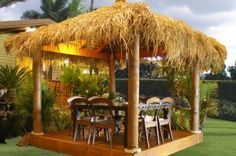 Enhance Your Backyard with Thatch Roofing