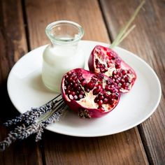 Pomegranate and Plate