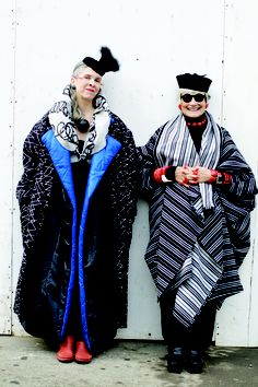 I need a buddy I can dress up and go out with like the idiosyncratic fashionistas.