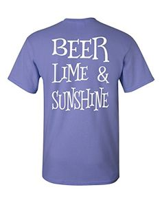 9e4d0b35131 Amazon.com  Beer Lime and Sunshine Southern Element Apparel Women s T-shirt   Clothing