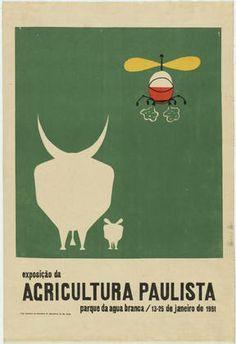 Lina Bo Bardi. Esposicao da Agricultura Paulista 13-25 de Janeiro de 1951. 1951